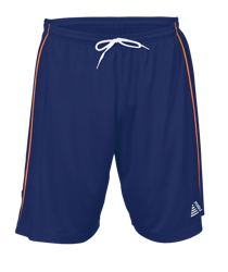 Premier Football Shorts Navy/Tangerine