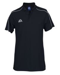 Vecta Polo Shirt Black/White