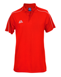 Vecta Polo Shirt Red/White