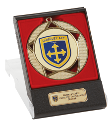 Deluxe Medal & Box - Gold
