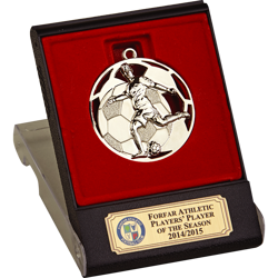 Swift Silver Boxed Medal