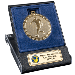 Agility Gold Football Medal